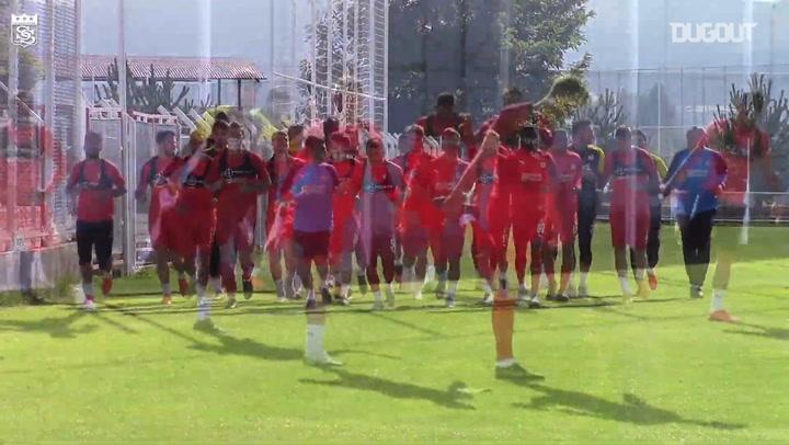 Sivasspor, Kayserispor Maçının Hazırlıklarını Sürdürüyor