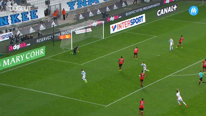 Njie and Thauvin great goals secure OM win vs Rennes