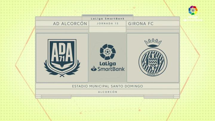 LaLiga SmartBank (J15): Alcorcón 1-0 Girona