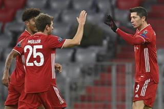 Bayern Múnich se clasifica a los octavos de la Liga de Campeones tras vencer a RB Salzburg