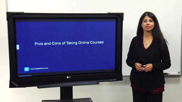 Taking online classes: Pros and cons