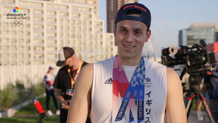 Team GB's James Guy a 'completely different person' after Olympic glory