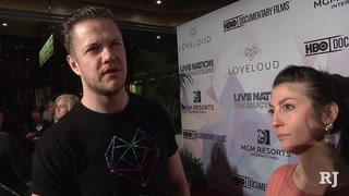 "Red carpet at MGM for Dan Reynolds' ""Believer"" screening"