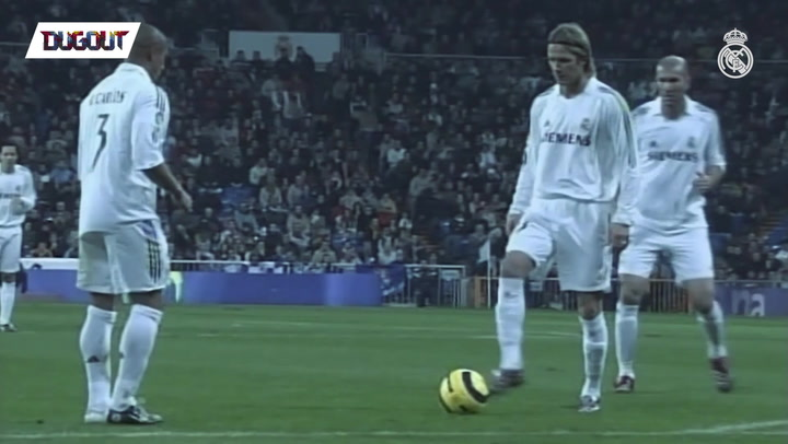 David Beckham's Finest Free Kicks