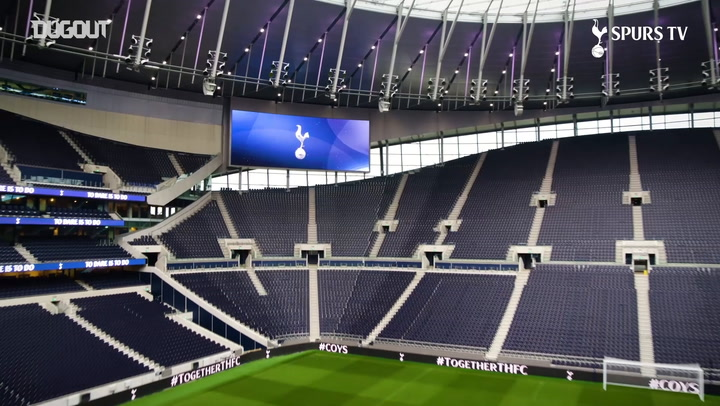 Drone Footage Of The Tottenham Hotspur Stadium