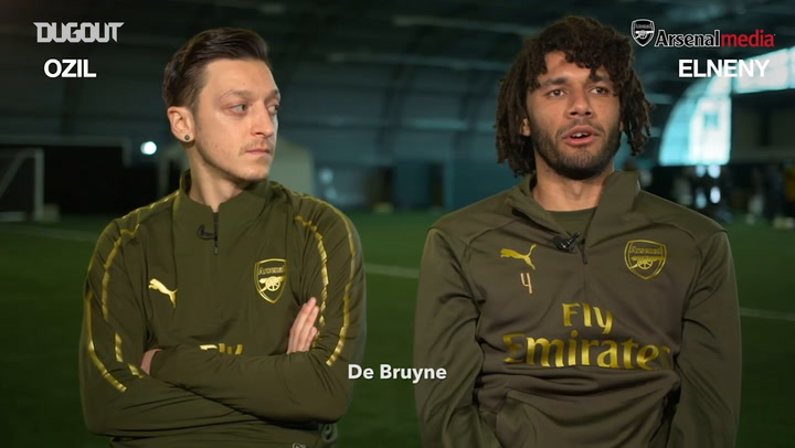 What Do You Know: Mesut Özil And Mohamed Elneny