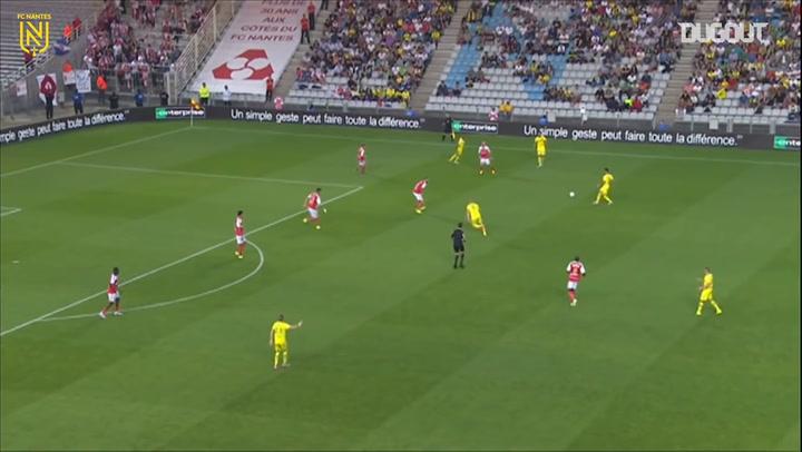 Lenjani helps Nantes claim the win vs Reims