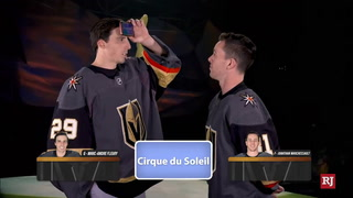 Fleury and Marchessault Play Heads Up – Video