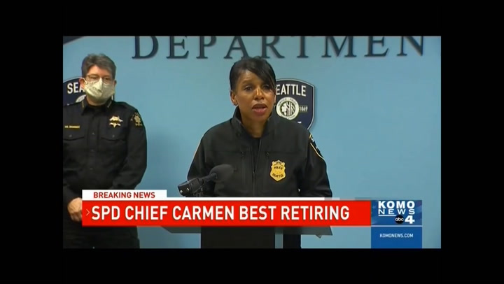 Report: Seattle Police Chief Announces Retirement in Wake of Cuts