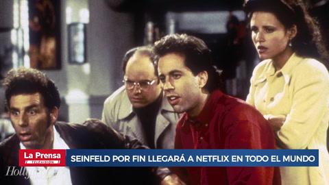 Seinfeld por fin llegará a Netflix, pero hasta en 2021