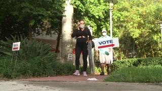Comenzó voto anticipado en Florida, donde Biden y Trump corren cabeza a cabeza