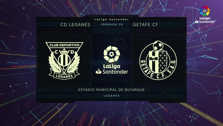 LaLiga (J20): Resumen y goles del Leganés 0-3 Getafe