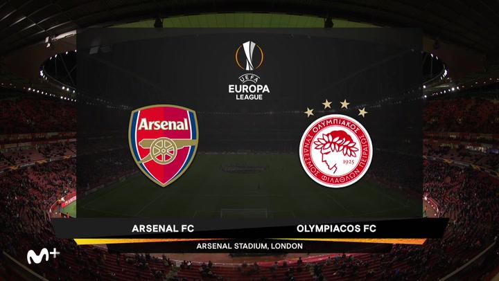 Europa League: Arsenal-Olympiacos