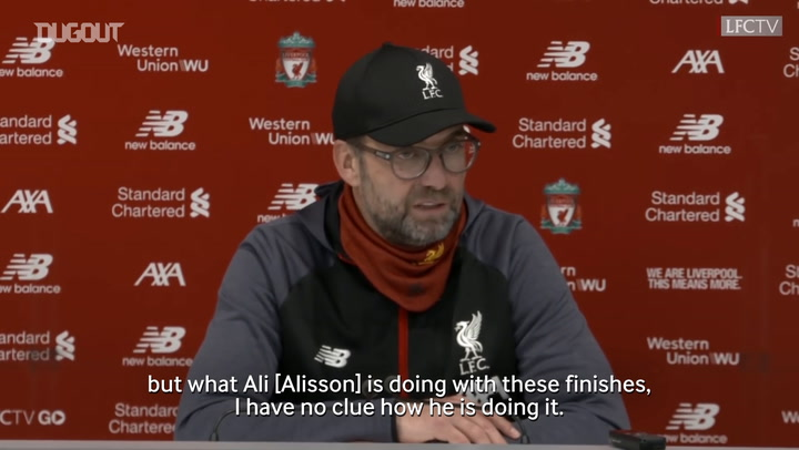 Klopp hails Alisson in Southampton win