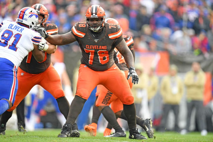 Browns stressing proper technique with OL in combine interviews