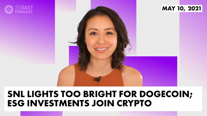 SNL Lights Too Bright for Dogecoin; ESG Investments Join Crypto