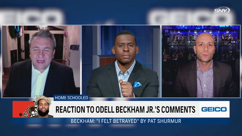 SportsNite: Why can't Odell Beckham Jr. just let it go with the Giants already?