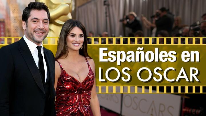 En vídeo: Curiosidades y anécdotas de los españoles en la gran fiesta de Hollywood