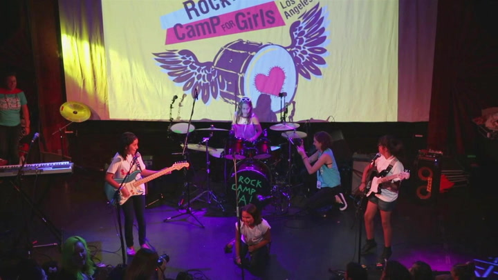 Patty Schemel Joins Forces with the Rock N Roll Camp for Girls