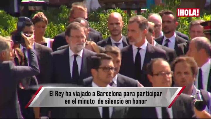 El minuto de silencio por las víctimas del atentado termina al grito de \'No tengo miedo\'