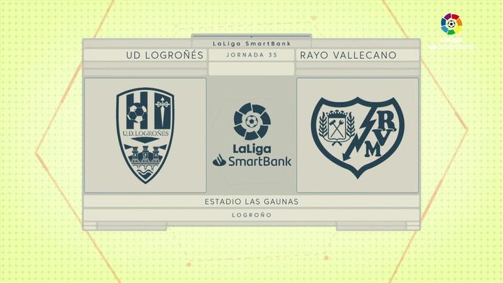 LaLiga SmartBank (J35): Resumen del Logroñés 0-0 Rayo Vallecano