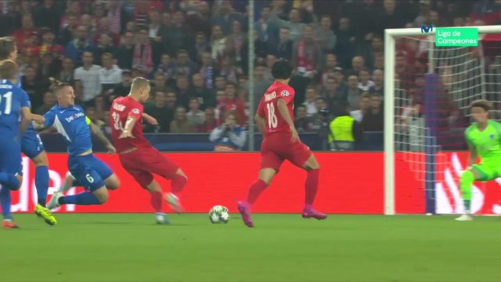 Champions League Red Bull Salzburg-Genk. Hat Trick de Haland
