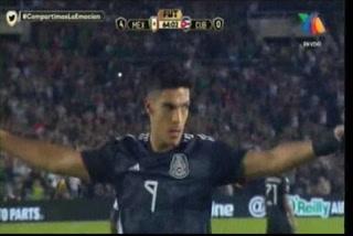 ¡GOL DE MÉXICO! Raúl Jimenez hace el 5-0 ante Cuba en la Copa Oro