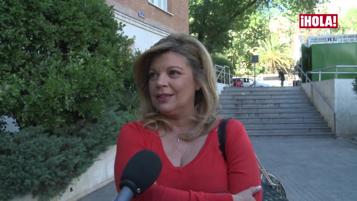 Terelu Campos habla de la mejoría de su madre, María Teresa Campos
