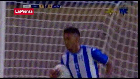 El gol del 'Choco' Lozano (Honduras) contra Jamaica en Copa Oro