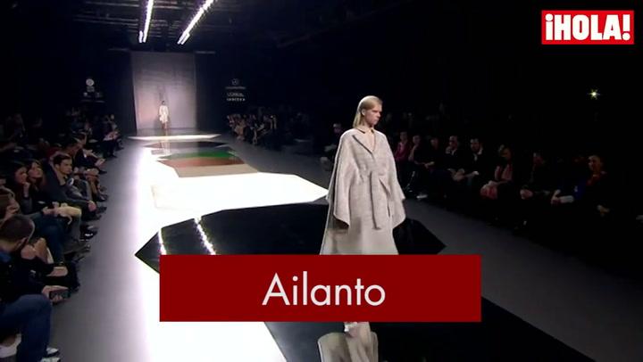 Fashion Week Madrid otoño-Invierno 2015-2016: Ailanto