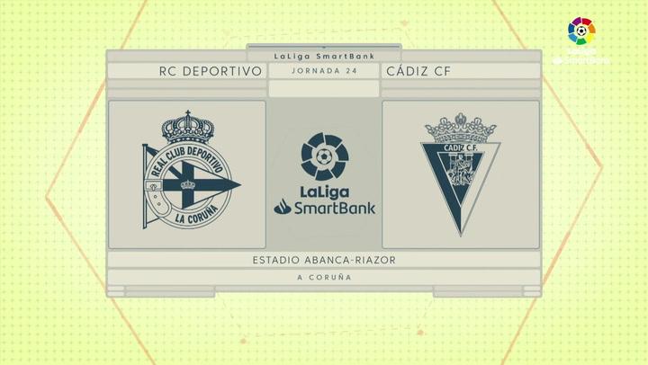 LaLiga SmartBank (J24): Resumen y gol del Deportivo 1-0 Cádiz