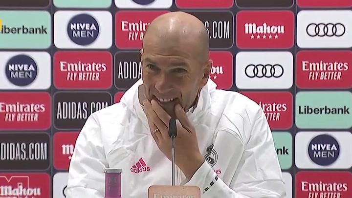 Rueda de prensa de Zinedine Zidane previa al Clásico