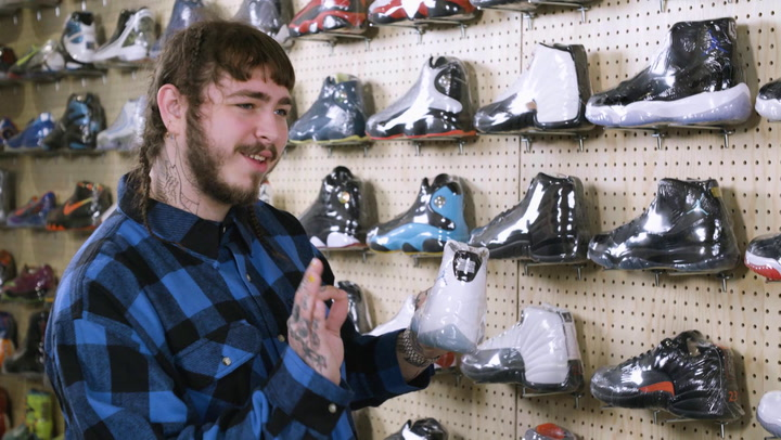 Post Malone: Sneaker Shopping