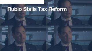 Today's 90-second news update: Rubio stalls tax reform bill
