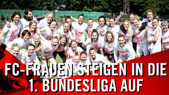 FC-Frauen steigen in die 1. Bundesliga auf