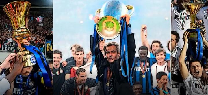 El triplete del Inter de Mourinho