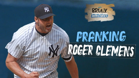 What happened when Yankees minor leaguers tried to prank Roger Clemens? | Bronx Backstories