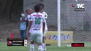Platense en remontada, golea al Real de Minas en Danlí en un gran debut del colombiano Yerson Gutiérrez