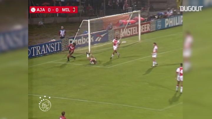 Ajax's 1995 Champions League group stage triumph vs AC Milan