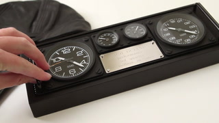 Aviator Clock Caddy