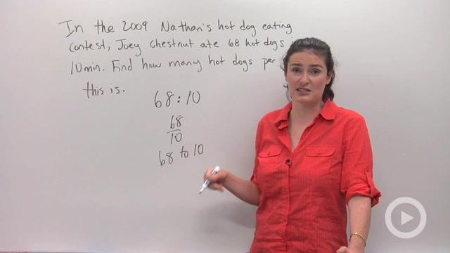 Ratios - Problem 1