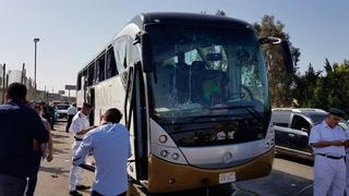 Eksplosjon ved turistbuss i Egypt