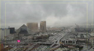 It is a rainy Valentine's Day in Las Vegas – Video