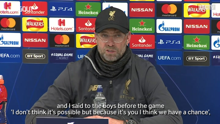 Klopp: 'I'm So Proud To Be Manager Of This Team'
