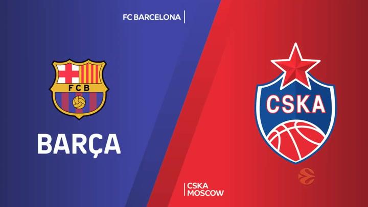 Euroliga: FC Barcelona - CSKA Moscow