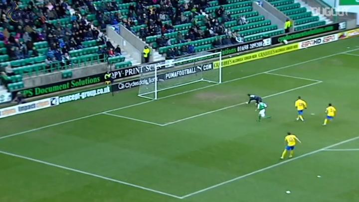 Debut Goals: Lee Croft Vs Hibernian FC