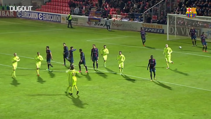 Barcelona blow past Huesca