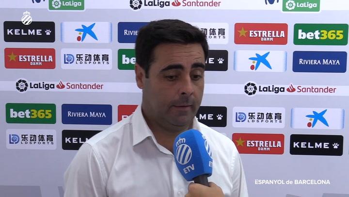 David Gallego habla tras el partido ante la Real Sociedad