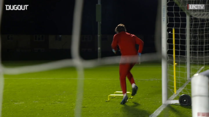 LFC keepers unbeatable in training