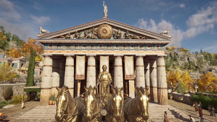 El modo Discovery Tour llega a Assassin's Creed Odyssey